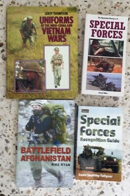 Uniforms of the Vietnam War + Special Forces Weapons etc: 4 Good Reference Books