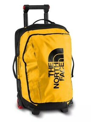 """The NORTH FACE ROLLING THUNDER 22"""" CARRY-ON WHEELED LUGGAGE IN SUMMIT GOLD BNWT"""