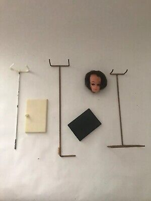 Vintage Fashion Doll Stand Lot - Camay? Betty? Severine?