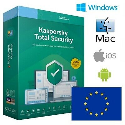 Kaspersky Total Security 2020 1 year 1, 2, 3, 4, 5, 10 devices OFFICIAL