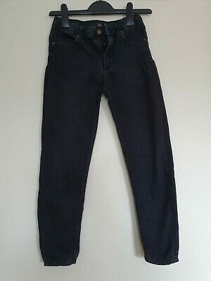 Boys River Island Black Skinny Jeans Age 10yrs excellent condition