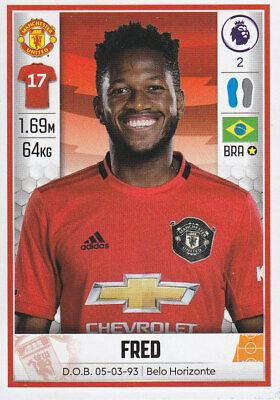 Panini Football - Premier League 2019-2020 - Fred - Manchester United - # 391