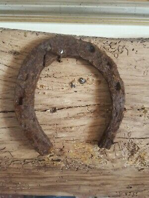 BEAUTIFUL Vintage Horseshoe Ornament Solid Lucky Genuine Farm Barn Find