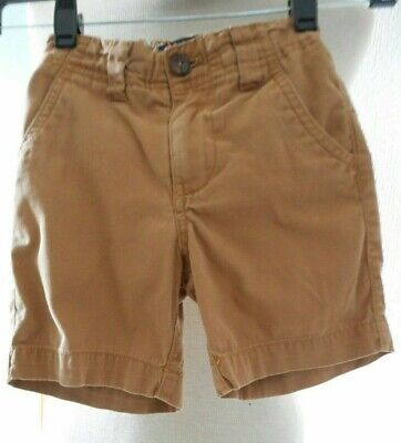 Mini Boden Brown Taupe Camel Chino Style Shorts Age 2 Years