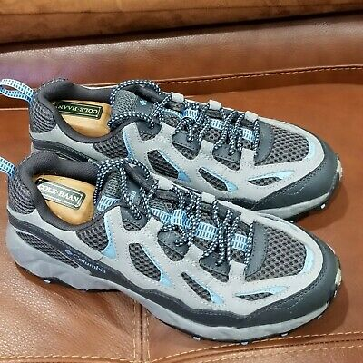 $175+ Womens Columbia  Grey Leather Uppers Athletic Shoes Sz 9 100% Authentic