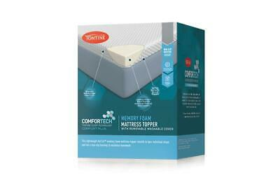 Tontine Comfortech Microplush 2-In-1 Electric Heated Topper
