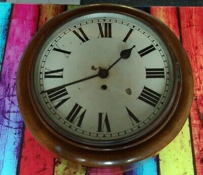 "Antique School / Railway / Station Wall Clock 12"" Dial"