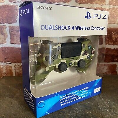PS4 DualShock 4 Controller Green Camouflage  BRAND NEW SEALED OFFICIAL PAL