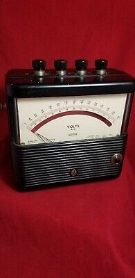 Vintage Weston Electrical Instrument Corp VOLTS A.C. Meter 0-150 Volts Model 904