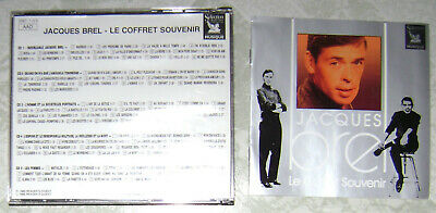 Jacques Brel Le Coffret Souvenir Coffret 5 Cd Du Reader's Digest