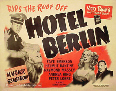 hotel berlin 1945 war drama dvd