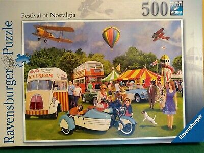 500 piece jigsaw Festival Of Nostalgia by Ravensburger puzzles