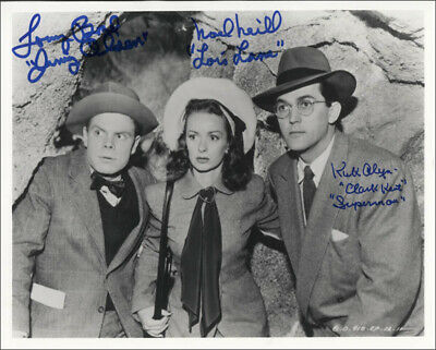 Superman Movie Cast - Autographed Signed Photograph With Co-Signers
