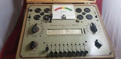 HEATHKIT TC-1 DYNAMIC TUBE CHECKER Tester - For Parts Untested
