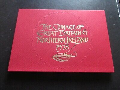 Royal Mint 1973 Proof Set, Eec 50P Issue, 6 Coins  - Very Good