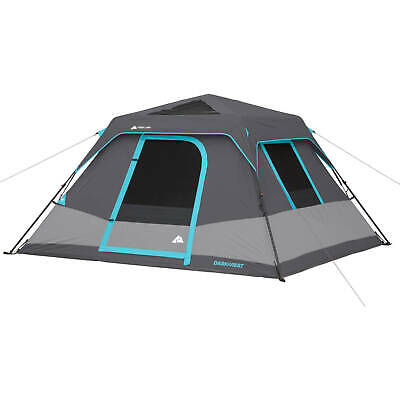0 person instant cabin tent with lights