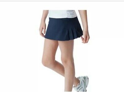 Fila Girls Navy Pleated Back Skort Size XXS NWT MSRP $45