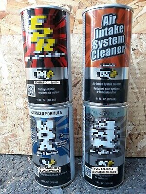 Automotive Engine Oil Flush & Conditioner, Fuel & Air Intake System Cleaner