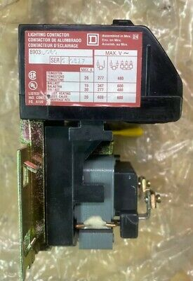 New Square D 8903L060V04 6 Pole Lighting Contactor