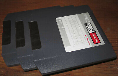 3x 250mb Zip Disk PC Format Iomega 250mb Good condition Formatted