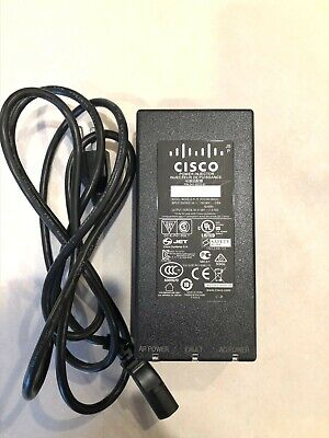 CISCO POWER INJECTOR AIR-PWRINJ4  POE30U-560(G) with cord- USED 56V, 0.55A