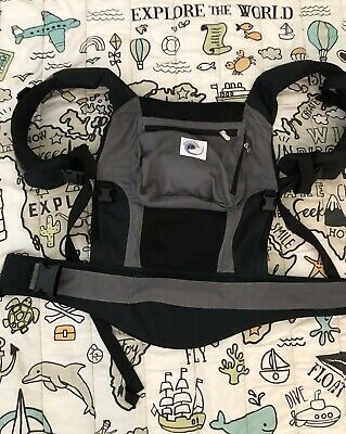 Ergobaby Performance Baby Carrier - Grey And Black