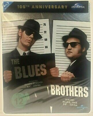 The Blues Brothers Steelbook.Blu-ray 100ème Anniversaire version Allemagne New