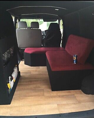 vw t5 transporter Swb Day Bed