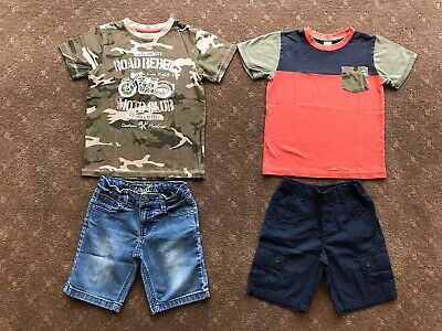 Boys Shorts and Tees, Great Condition As New, Size 5