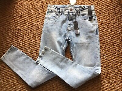 Next Boys Snow Wash Skinny Jeans Age 12 Years Brand New