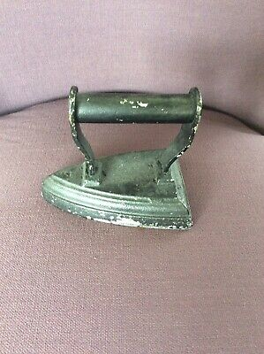 Door Stopper - Antique / Vintage - Metal Iron Decorative Piece - Black