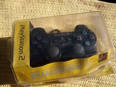 New Official Sony DualShock 2 PlayStation PS2 Controller Gamepad Sealed tattybox