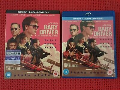 Baby Driver - Blu ray + Digital Download - Region Free - (Watched Once)