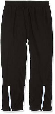 New Puma Childrens Leisure Warmup Pants Black SweatPants TrackPants Joggers 5-6Y