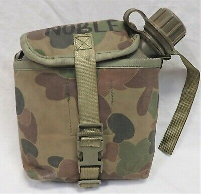 Australian Army Belt strap harness 2ltr large water bottle , named , dated 1994