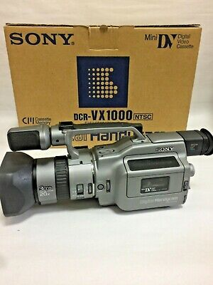 Sony Handycam DCR-VX100 Excellent Condition Japanese