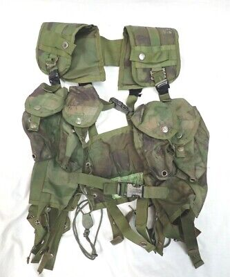 Australian Army Sri Lankan harness magazine mag pouch Belt chest Rig Camo