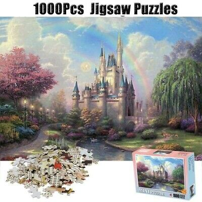 Puzzle Adult 1000 Piece Large Cardboard Jigsaw Decompression Game Toy Gift