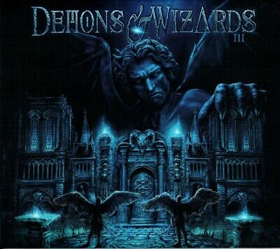 DEMONS & WIZARDS III Deluxe Edition CD+2 BONUS NEW Blind Guardian Iced Earth