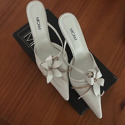 Micam Leather Wedding Shoes - Size 39