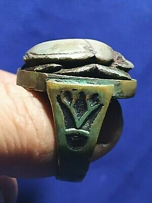 Pharaonic ring very beautiful and rare ancient Egypt civilization. 4
