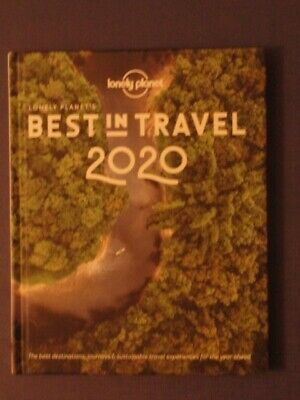 BRAND NEW Lonely Planet Best in Travel 2020