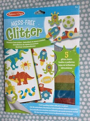 Melissa /& Doug Mess-Free Glitter Headbands and Barrettes 19516