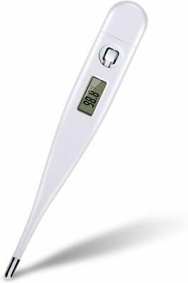 LCD Digital Thermometer, Kids Baby Adult Thermometer for Rectal Oral