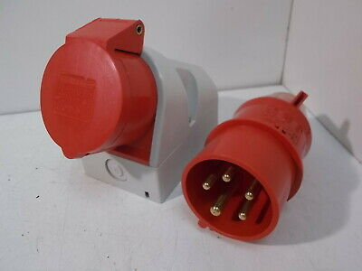 New Bals CEE Norm Type 102 Plug & Socket