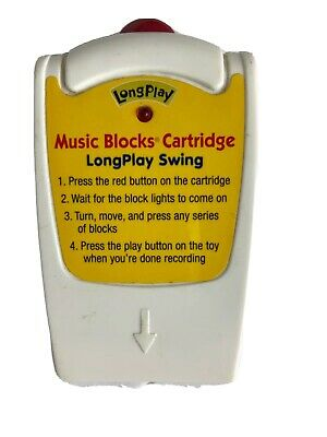 Neurosmith MUSIC BLOCKS Educational Cartridge Longplay Swing