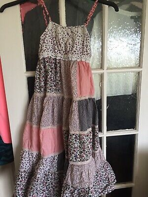 Girls Next Patchwork Maxi Dress Age 8 Years