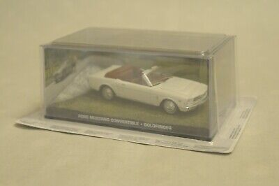 007 James Bond Car Collection #35 Ford Mustang convertible Goldfinger