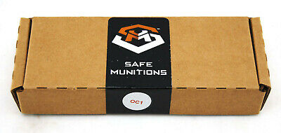 Mission Less Lethal Operational Munitions OC1 Live Rounds 10 Rounds .68 Caliber