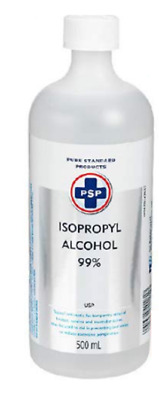 Isopropyl alcohol 99 % Rubbing alcohol 500 ml